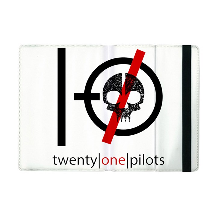 Twenty One Pilots Skull Apple iPad Mini Flip Case