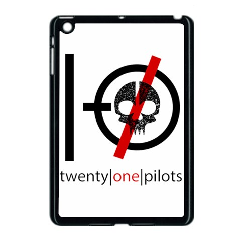 Twenty One Pilots Skull Apple iPad Mini Case (Black)