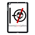 Twenty One Pilots Skull Apple iPad Mini Case (Black) Front
