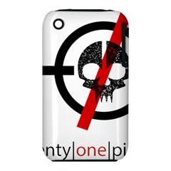 Twenty One Pilots Skull Apple Iphone 3g/3gs Hardshell Case (pc+silicone)