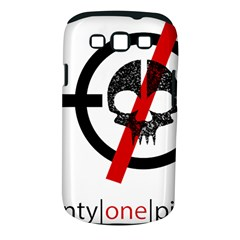 Twenty One Pilots Skull Samsung Galaxy S III Classic Hardshell Case (PC+Silicone)