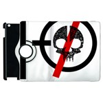 Twenty One Pilots Skull Apple iPad 3/4 Flip 360 Case Front