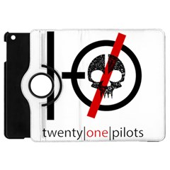 Twenty One Pilots Skull Apple iPad Mini Flip 360 Case
