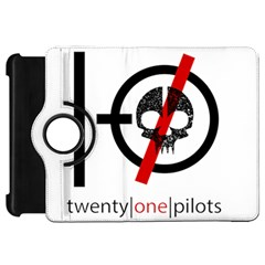 Twenty One Pilots Skull Kindle Fire Hd Flip 360 Case