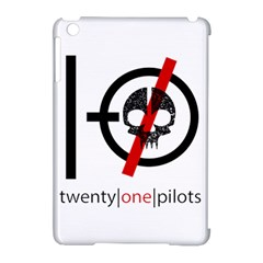Twenty One Pilots Skull Apple iPad Mini Hardshell Case (Compatible with Smart Cover)