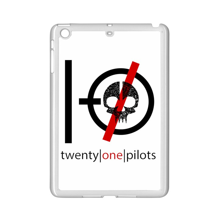 Twenty One Pilots Skull iPad Mini 2 Enamel Coated Cases