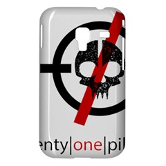 Twenty One Pilots Skull Samsung Galaxy Ace Plus S7500 Hardshell Case