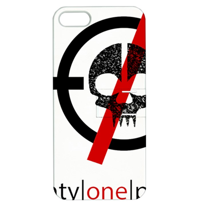Twenty One Pilots Skull Apple iPhone 5 Hardshell Case with Stand