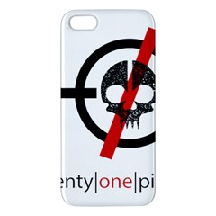 Twenty One Pilots Skull Apple iPhone 5 Premium Hardshell Case