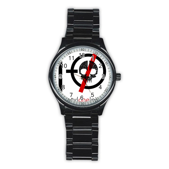 Twenty One Pilots Skull Stainless Steel Round Watch