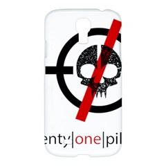 Twenty One Pilots Skull Samsung Galaxy S4 I9500/I9505 Hardshell Case