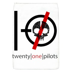 Twenty One Pilots Skull Flap Covers (S)