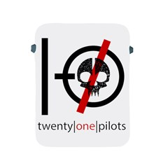 Twenty One Pilots Skull Apple iPad 2/3/4 Protective Soft Cases