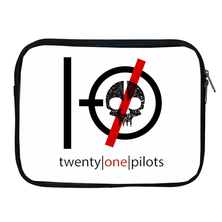Twenty One Pilots Skull Apple iPad 2/3/4 Zipper Cases