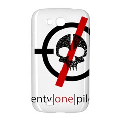 Twenty One Pilots Skull Samsung Galaxy Grand GT-I9128 Hardshell Case