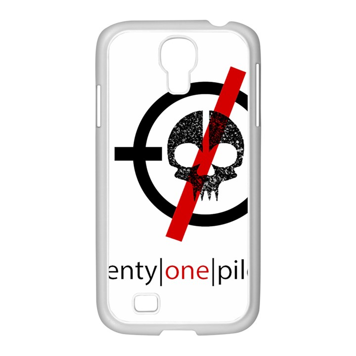 Twenty One Pilots Skull Samsung GALAXY S4 I9500/ I9505 Case (White)
