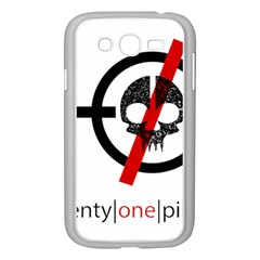 Twenty One Pilots Skull Samsung Galaxy Grand DUOS I9082 Case (White)