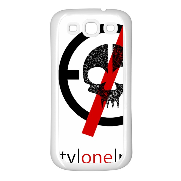 Twenty One Pilots Skull Samsung Galaxy S3 Back Case (White)