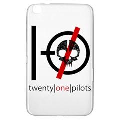 Twenty One Pilots Skull Samsung Galaxy Tab 3 (8 ) T3100 Hardshell Case