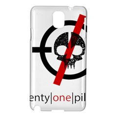 Twenty One Pilots Skull Samsung Galaxy Note 3 N9005 Hardshell Case