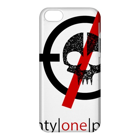 Twenty One Pilots Skull Apple iPhone 5C Hardshell Case