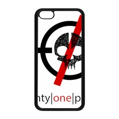 Twenty One Pilots Skull Apple iPhone 5C Seamless Case (Black)