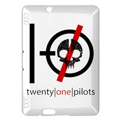 Twenty One Pilots Skull Kindle Fire HDX Hardshell Case