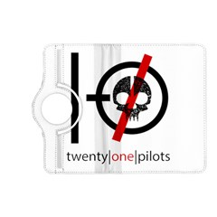 Twenty One Pilots Skull Kindle Fire Hd (2013) Flip 360 Case