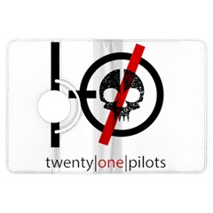 Twenty One Pilots Skull Kindle Fire Hdx Flip 360 Case