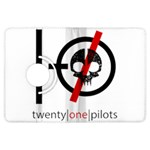 Twenty One Pilots Skull Kindle Fire HDX Flip 360 Case Front