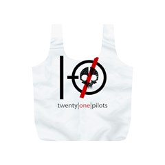 Twenty One Pilots Skull Full Print Recycle Bags (s)
