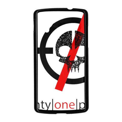 Twenty One Pilots Skull Nexus 5 Case (Black)