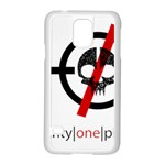 Twenty One Pilots Skull Samsung Galaxy S5 Case (White) Front