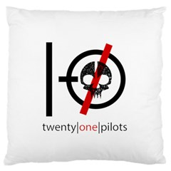 Twenty One Pilots Skull Standard Flano Cushion Case (two Sides)