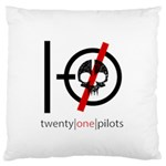 Twenty One Pilots Skull Standard Flano Cushion Case (Two Sides) Back
