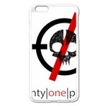Twenty One Pilots Skull Apple iPhone 6 Plus/6S Plus Enamel White Case Front