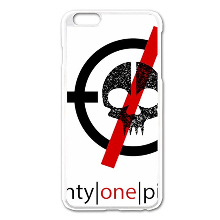 Twenty One Pilots Skull Apple iPhone 6 Plus/6S Plus Enamel White Case