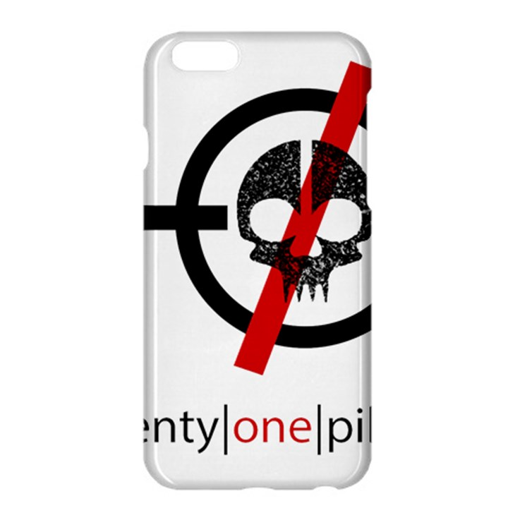 Twenty One Pilots Skull Apple iPhone 6 Plus/6S Plus Hardshell Case