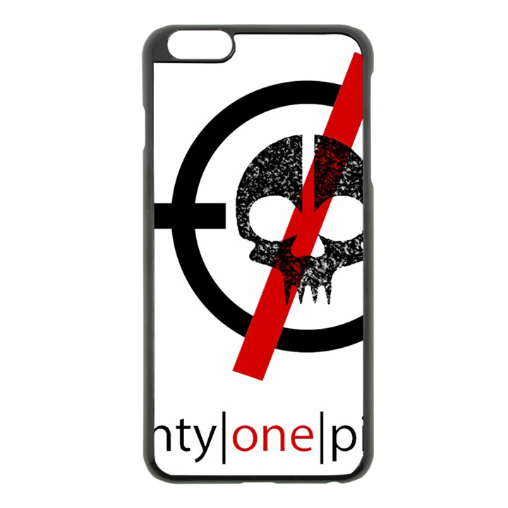 Twenty One Pilots Skull Apple iPhone 6 Plus/6S Plus Black Enamel Case