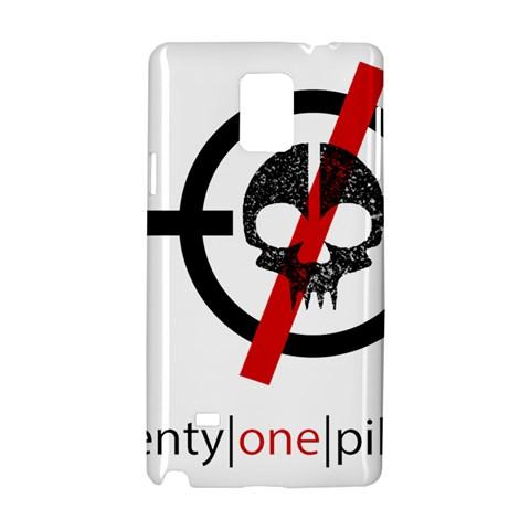 Twenty One Pilots Skull Samsung Galaxy Note 4 Hardshell Case
