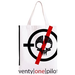 Twenty One Pilots Skull Classic Light Tote Bag