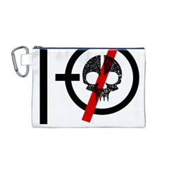 Twenty One Pilots Skull Canvas Cosmetic Bag (M)