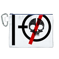 Twenty One Pilots Skull Canvas Cosmetic Bag (XL)