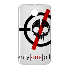 Twenty One Pilots Skull Nexus 6 Case (White)