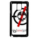 Twenty One Pilots Skull Samsung Galaxy Note 4 Case (Black) Front