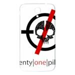 Twenty One Pilots Skull Samsung Galaxy Mega I9200 Hardshell Back Case Front