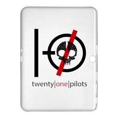 Twenty One Pilots Skull Samsung Galaxy Tab 4 (10 1 ) Hardshell Case