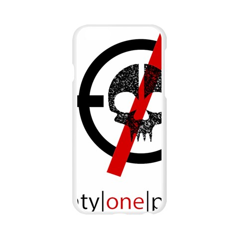 Twenty One Pilots Skull Apple Seamless iPhone 6/6S Case (Transparent)