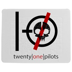 Twenty One Pilots Skull Jigsaw Puzzle Photo Stand (rectangular)