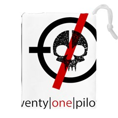 Twenty One Pilots Skull Drawstring Pouches (XXL)